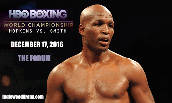 World Championship Boxing: Hopkins vs. Smith Jr. at The Forum