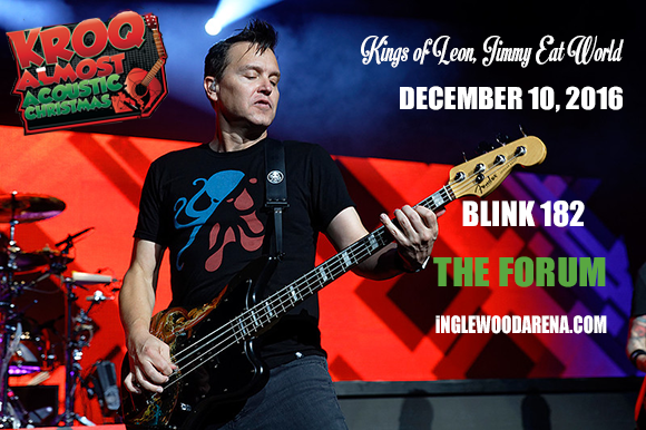 Almost Acoustic Christmas: Blink 182, Kings Of Leon & Jimmy Eat World at The Forum