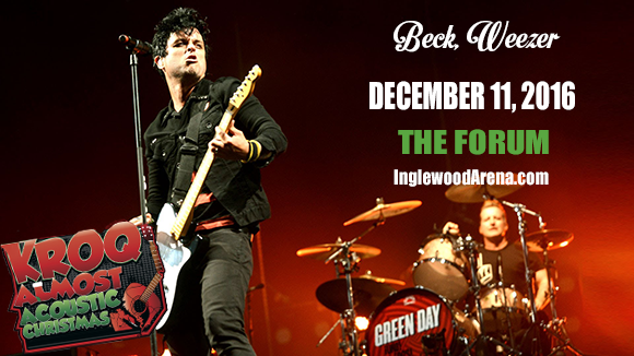 Almost Acoustic Christmas: Green Day, Beck & Weezer at The Forum