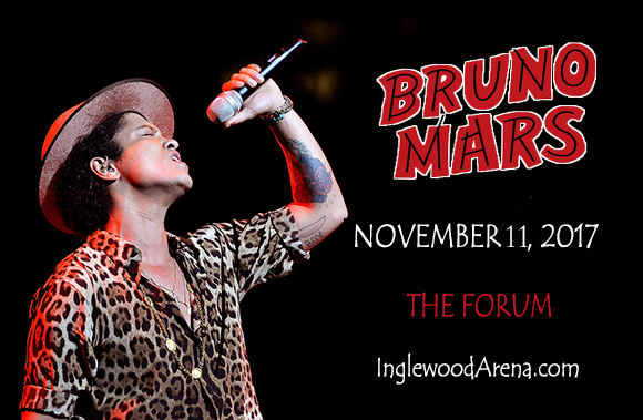 Bruno Mars at The Forum