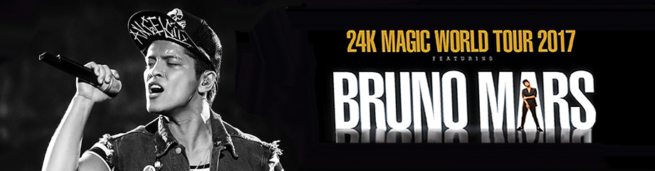 Bruno Mars at The Forum