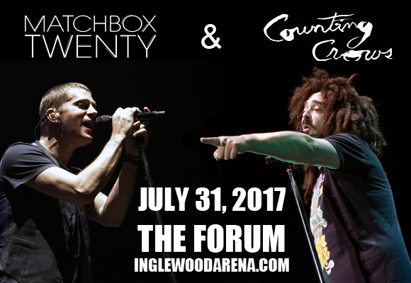 Counting Crows & Matchbox Twenty at The Forum