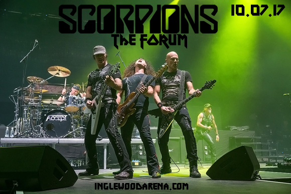 Scorpions & Megadeth at The Forum
