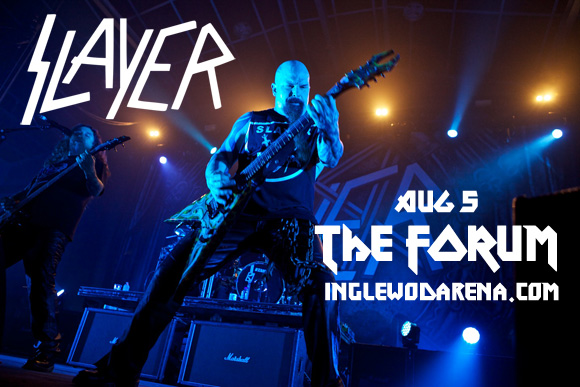 Slayer, Lamb of God & Behemoth at The Forum