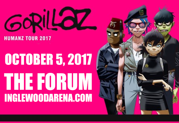 Gorillaz at The Forum