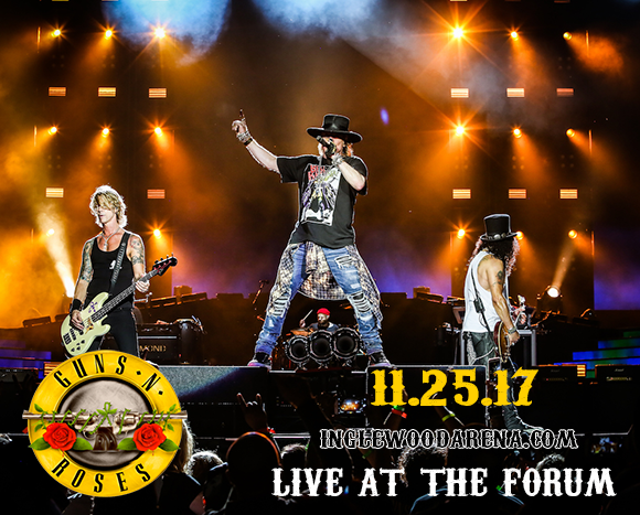 Guns N' Roses at The Forum