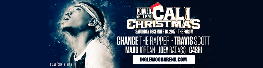 Cali Christmas: Chance the Rapper, Travis Scott & Majid Jordan at The Forum