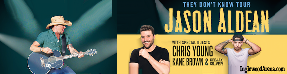CANCELLED - Jason Aldean, Chris Young & Kane Brown  at The Forum
