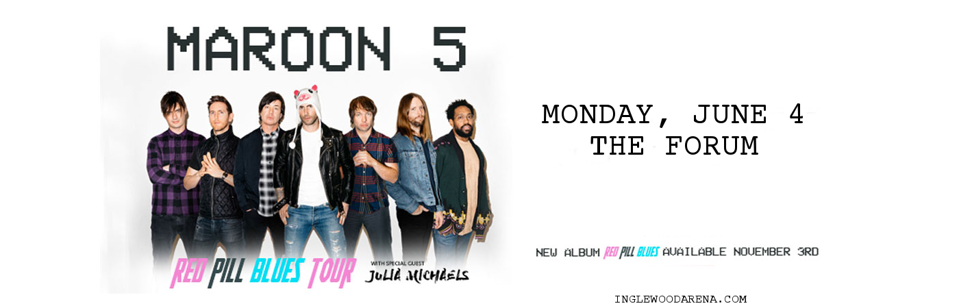 Maroon 5 & Julia Michaels at The Forum