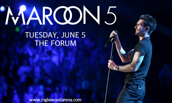 Maroon 5 at The Forum