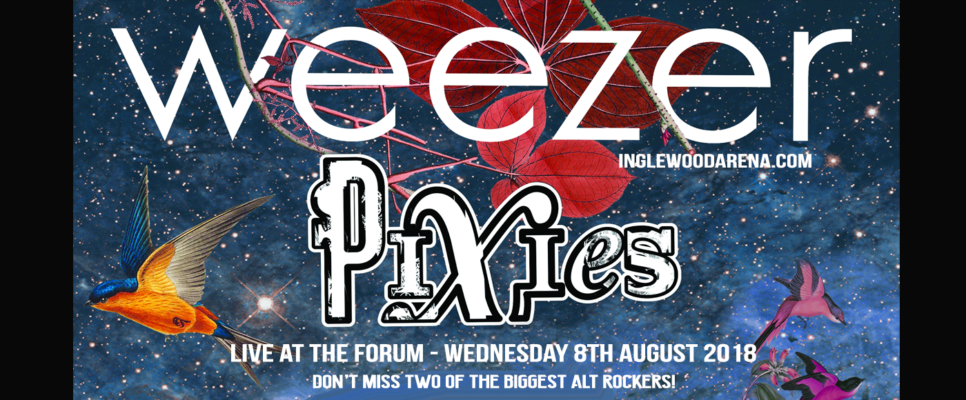 Weezer & Pixies at The Forum