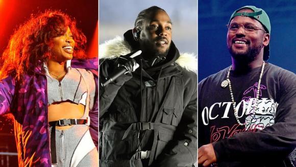 Kendrick Lamar, SZA & Schoolboy Q at The Forum