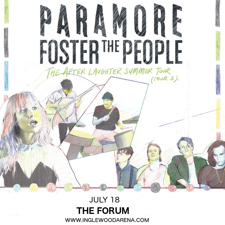 Paramore & Foster The People at The Forum