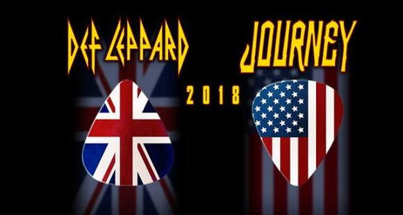 Journey & Def Leppard at The Forum