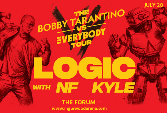 Logic, NF & Kyle at The Forum