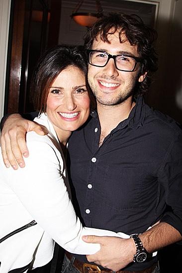 Josh Groban & Idina Menzel at The Forum
