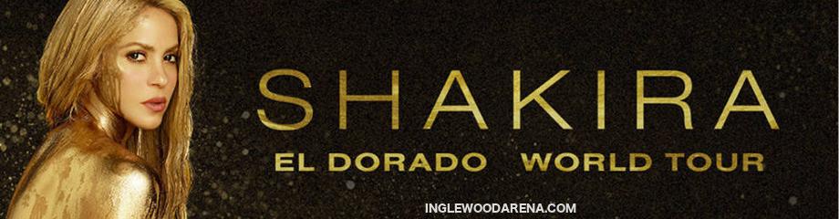 Shakira at The Forum