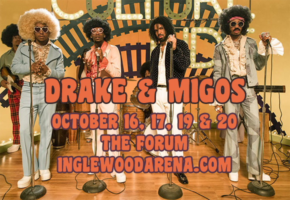 Drake & Migos at The Forum