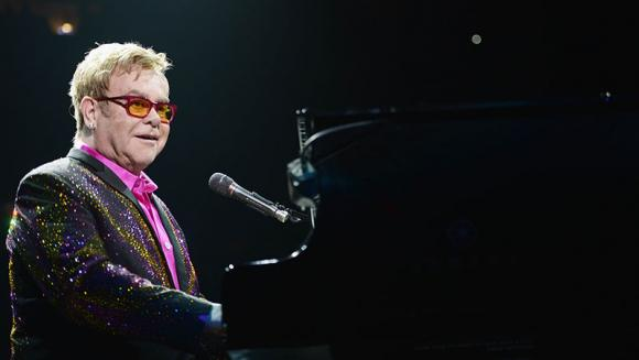Elton John at The Forum