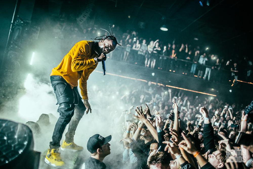 Travis Scott at The Forum