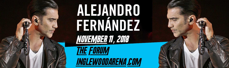 Alejandro Fernandez at The Forum