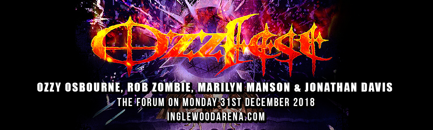 Ozzfest: Ozzy Osbourne, Rob Zombie, Marilyn Manson & Jonathan Davis at The Forum