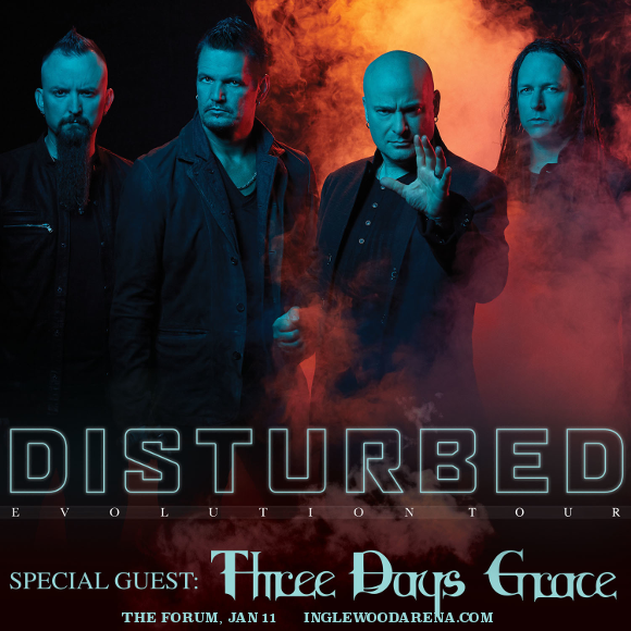 Disturbed & Three Days Grace at The Forum