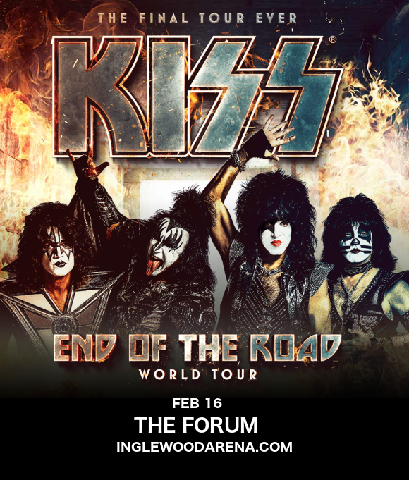 Kiss at The Forum