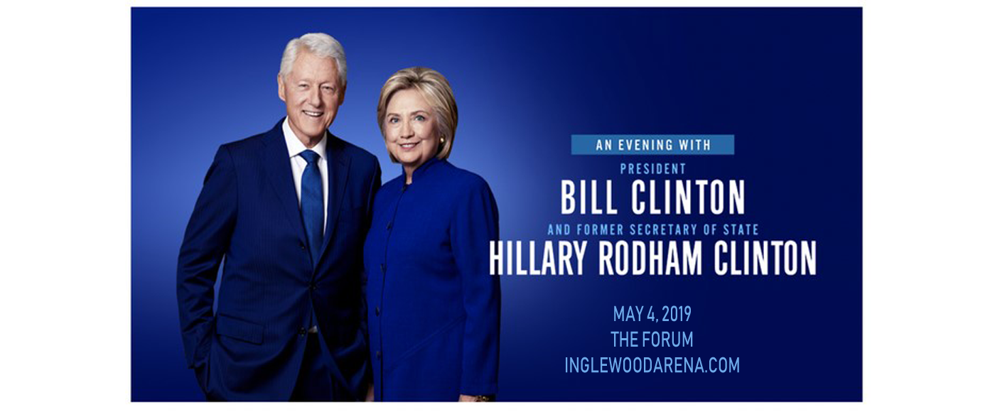 Bill and Hillary Clinton at The Forum