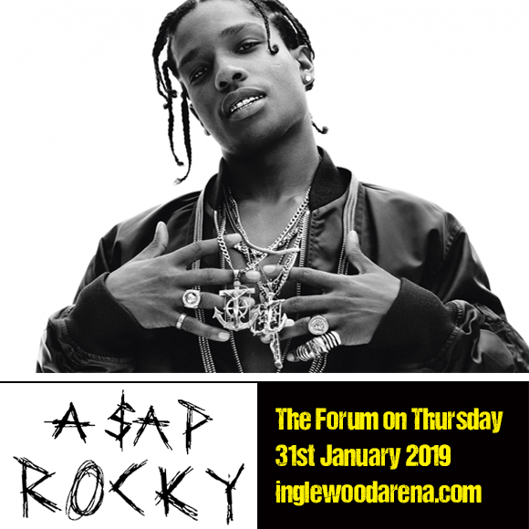 ASAP Rocky at The Forum