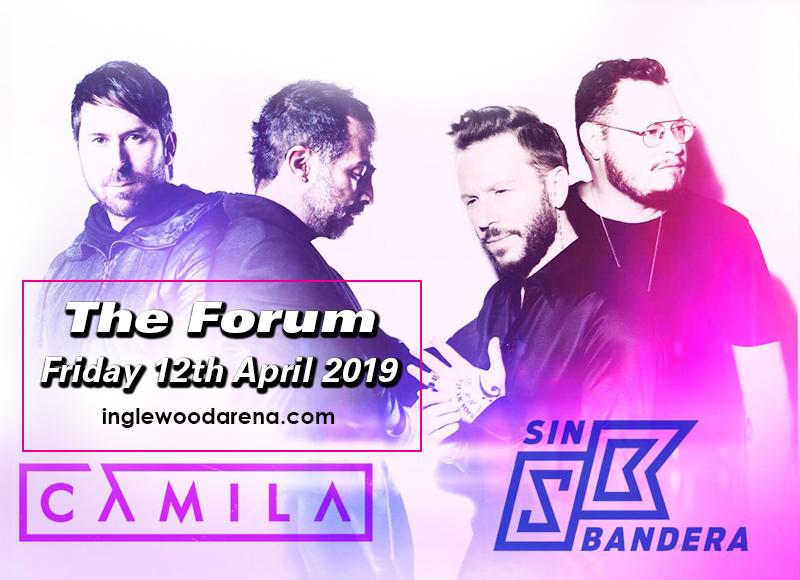 Camila & Sin Bandera at The Forum