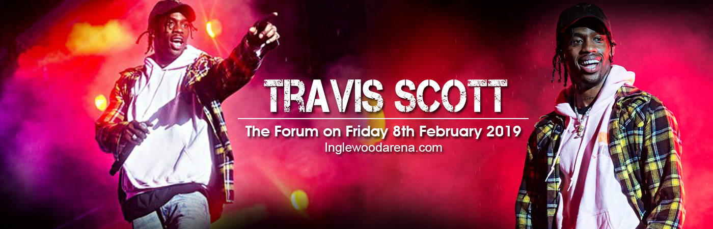 Travis Scott at The Forum