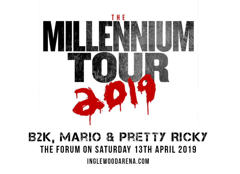The Millennium Tour: B2K, Mario & Pretty Ricky at The Forum