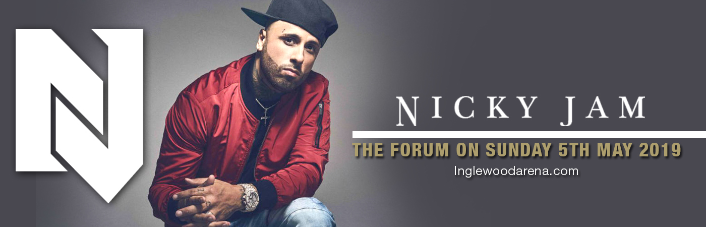 Nicky Jam at The Forum