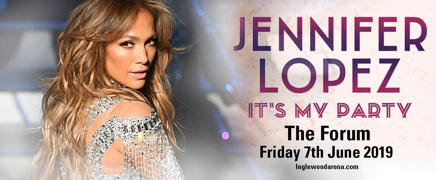 Jennifer Lopez at The Forum