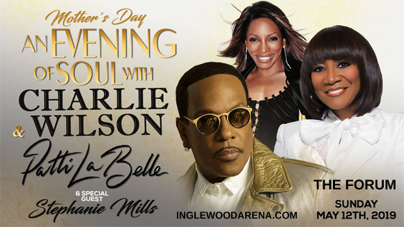 Charlie Wilson & Patti Labelle at The Forum