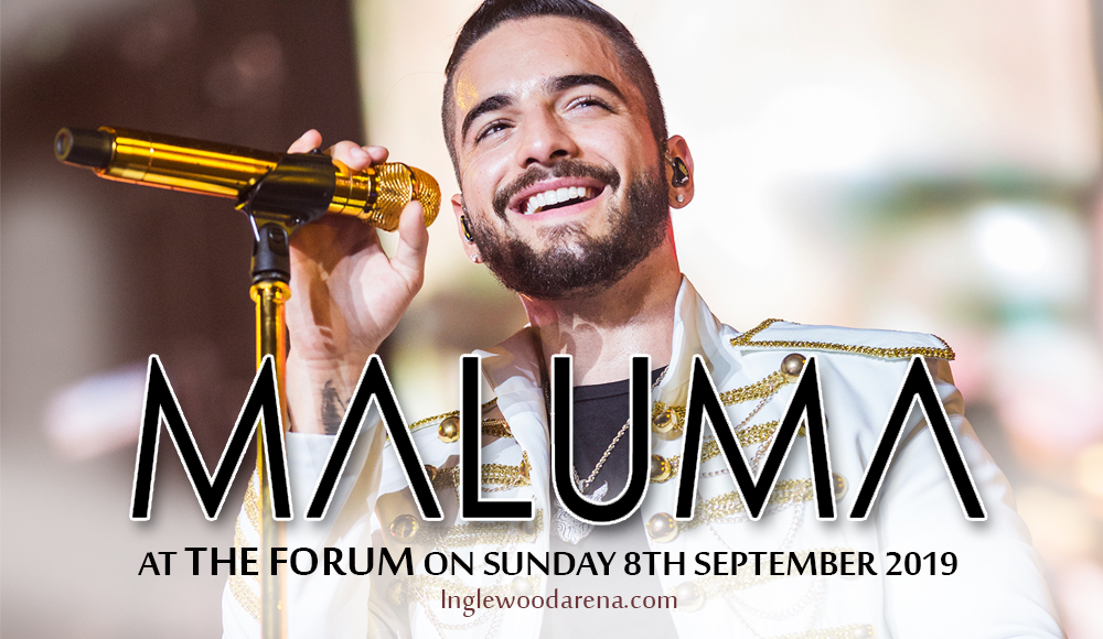 Maluma at The Forum