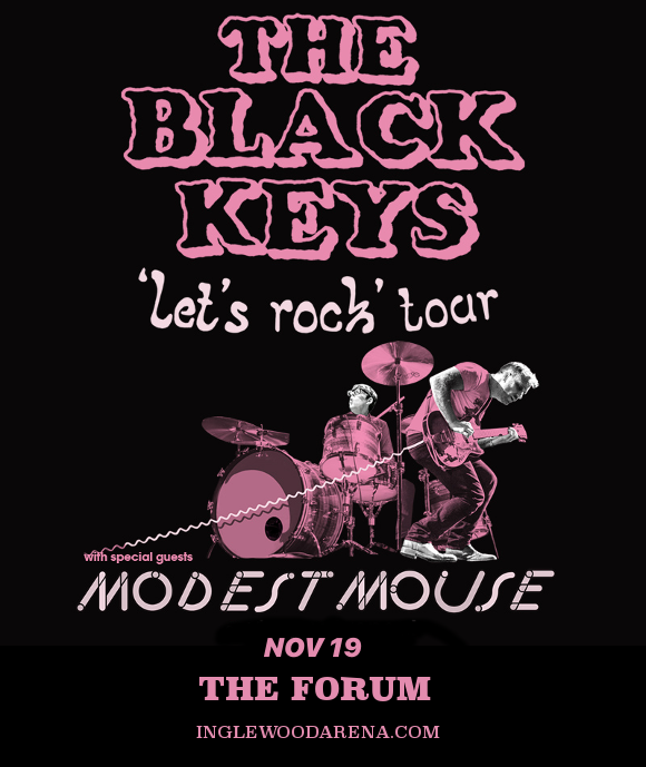 The Black Keys, Modest Mouse & Shannon and the Clams at The Forum