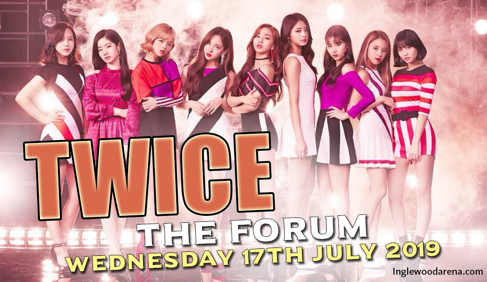 TWICE at The Forum