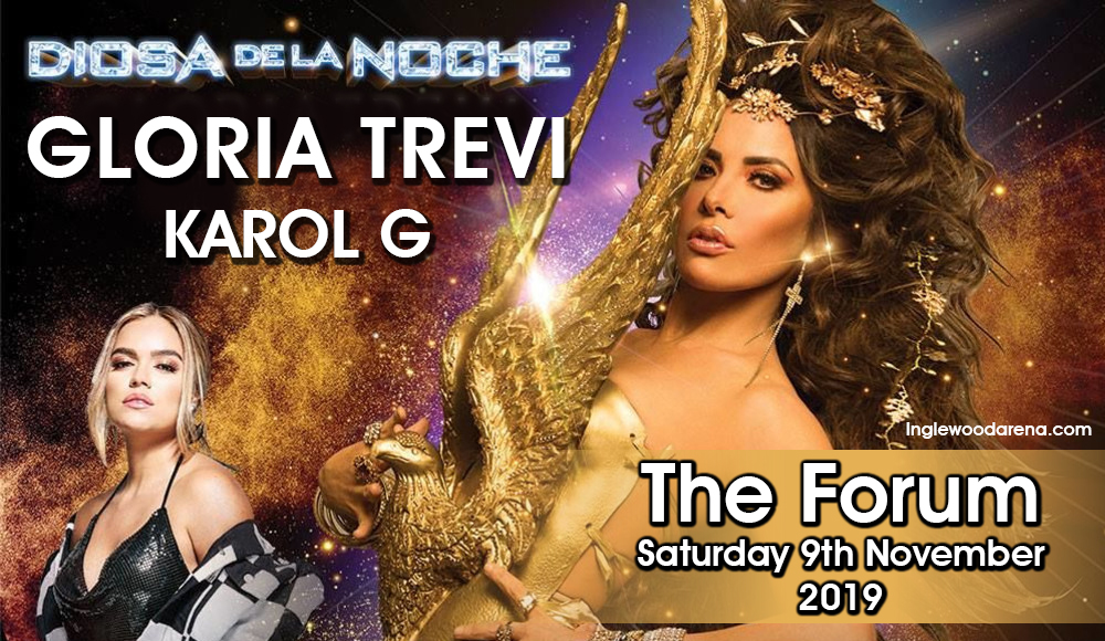 Gloria Trevi & Karol G at The Forum