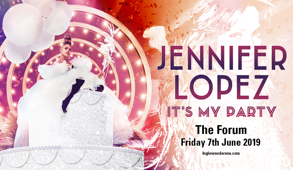 Jennifer Lopez at The Forum