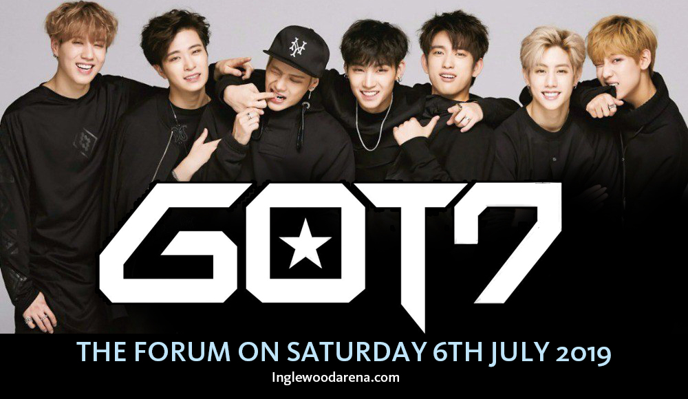 Got7 at The Forum