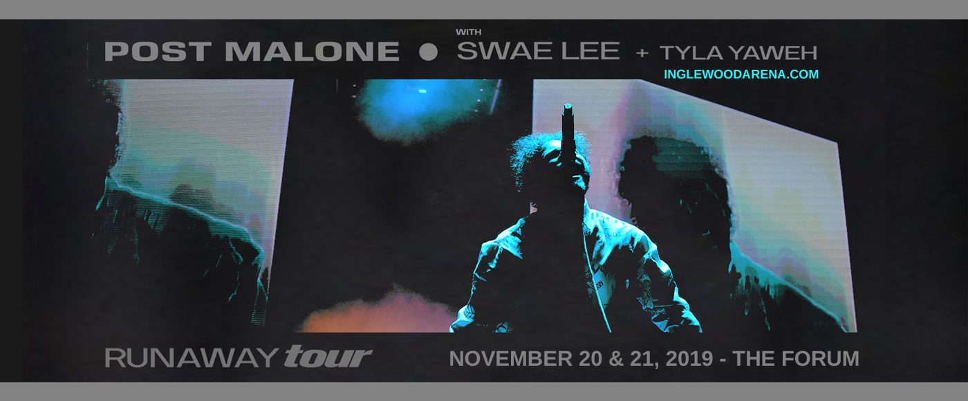 Post Malone at The Forum