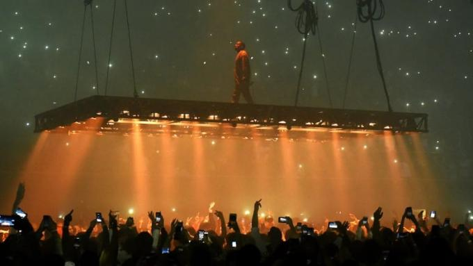 Kanye West Sunday Service Experience at The Forum