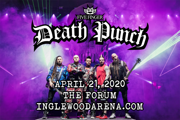 Five Finger Death Punch, Papa Roach, I Prevail & Ice Nine Kills at The Forum