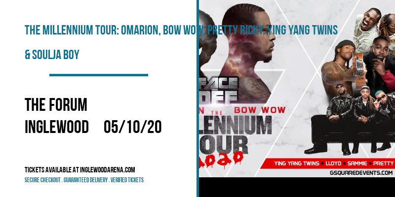 The Millennium Tour: Omarion, Bow Wow, Pretty Ricky, Ying Yang Twins & Soulja Boy at The Forum