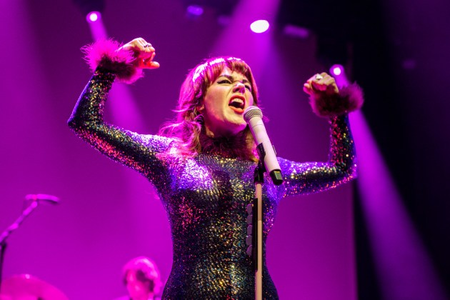 Harry Styles & Jenny Lewis at The Forum