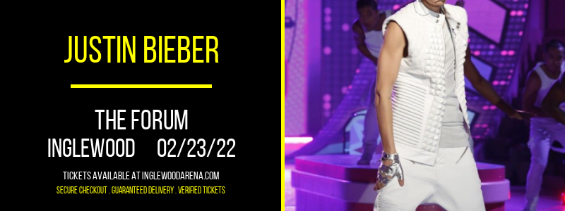 Justin Bieber at The Forum