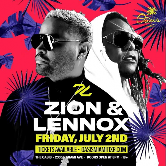 Zion & Lennox at The Forum