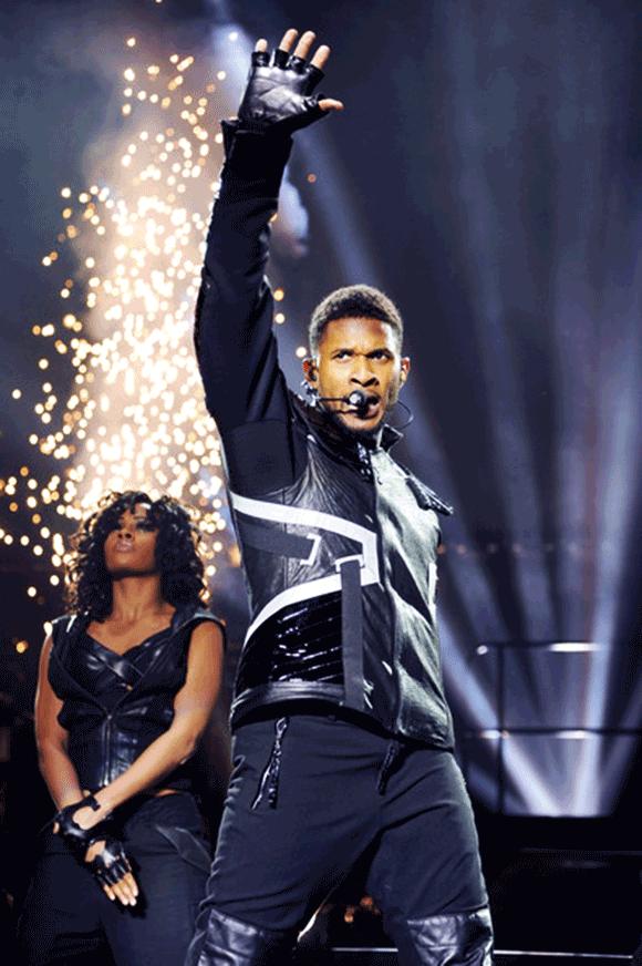Real 92.3 The Real Show: Usher, Bryson Tiller, Ty Dolla Sign, Kid Ink, Desiigner & Kap G  at The Forum